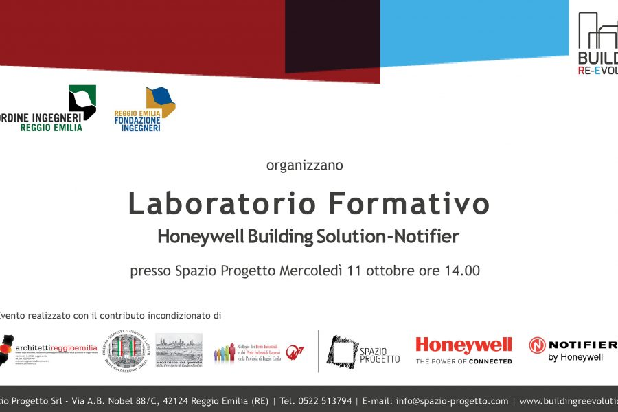 LABORATORIO FORMATIVO, HONEYWELL BUILDING SOLUTION – NOTIFIER