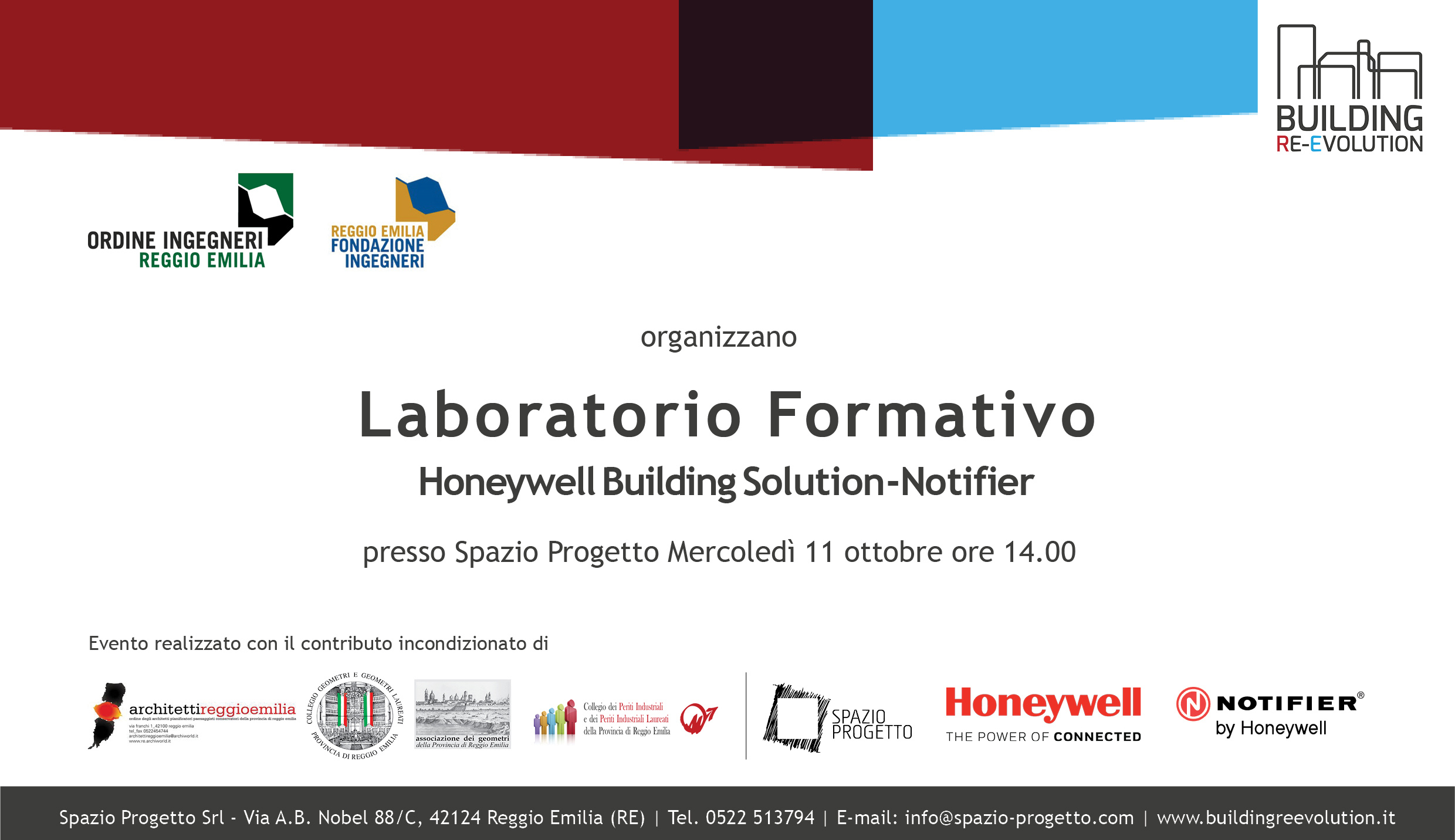 LABORATORIO FORMATIVO, HONEYWELL BUILDING SOLUTION – NOTIFIER