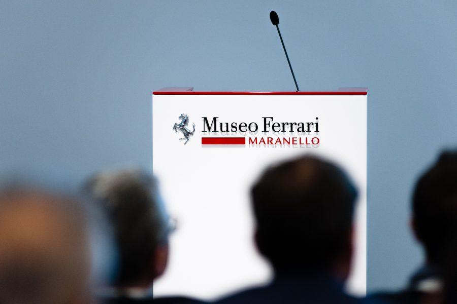 """Museo Ferrari 20 Aprile – """"COSTRUIRE L'ECCELLENZA ATTRAVERSO LA CULTURA DEL PROGETTO"""""""